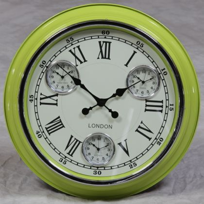 Lime Green Kitchen Wall Clocks