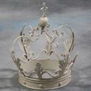 white crown ornament