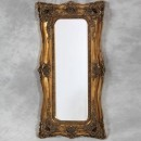 tall gold ornate mirror traditional classical does edge frame