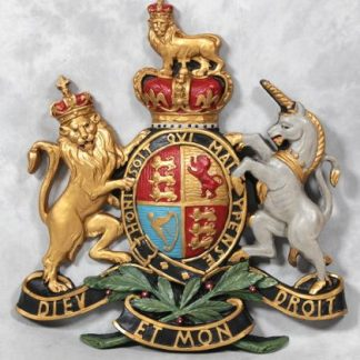 Large Coat of Arms Wall measures 70 x 75 x 6cm and is lightweight to be easily hung on any wall.