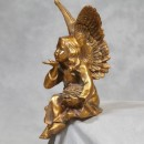 gold sitting angel is a fairy too, she measures 40 x 17 x 20cm and is a wonderful gift