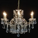 This gold shallow chandelier 6 branch is one of our best selling chandeliers and is my personal favourite. Both quality and style! 48 x 64 x 64cm