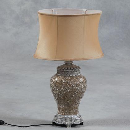 gold mosaic lamp
