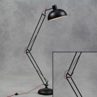black floor lamp angle poise