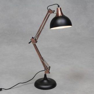 Black Copper Desk Lamp anglepoise style