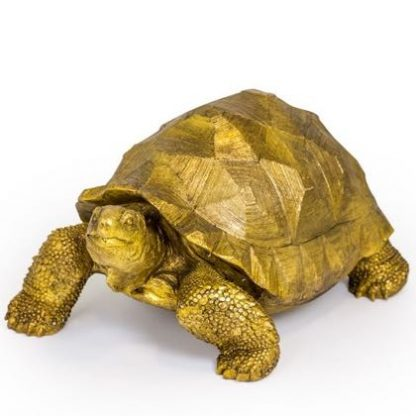 Here is Gwen, our large gold tortoise ornament! She is a beauty with great styling, finish, texture, colour and value. H40 x W35 x D60cm.