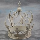 white crown ornament