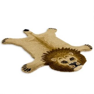 Add a colourful, exotic style with this superb hand tufted small lion rug. With a dense luxurious pile this rug feels and looks superb. 60 x 90cm