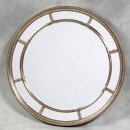 round silver window mirror large multi mirror all with bevelled edges great quality and finish