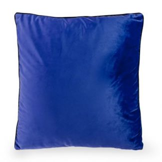 This super smooth ultramarine blue cushion is a great size at 50 x 50cm. The perfect scatter cushion that looks great on any chair. Fab value and quality.