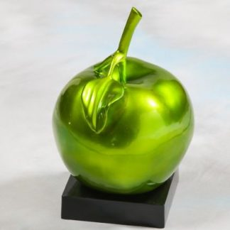green apple table decoration. Bold and beautiful perfect addition to your home