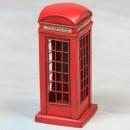 red phone box money box vintage style