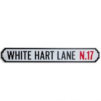 This fantastic White Hart Lane Road Sign is just the thing for Tottenham fans out there ! Fabulous gift for any Spurs fan.85 x 13 x 2cm