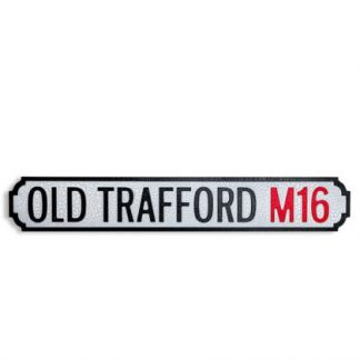 Hand crafted and painted, this Old Trafford Road Sign really does look the part and will add a touch of nostalgia. 78 x 13 x 2cm