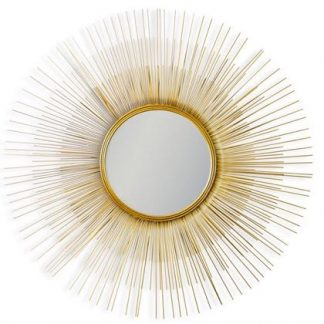 Gold Toned Mirrors