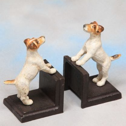 These cast iron terrier bookends are perfect for any dog lover. A great gift! Super style, detail and finish. Weighty and practical too! 16x 9x 9cm.